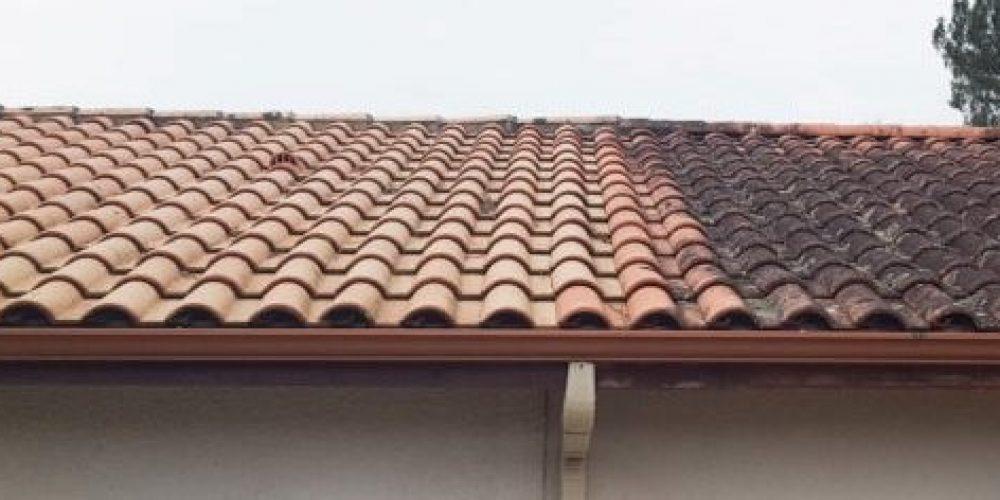 Roof cleaning Glastonbury, Yeovil, Somerton,